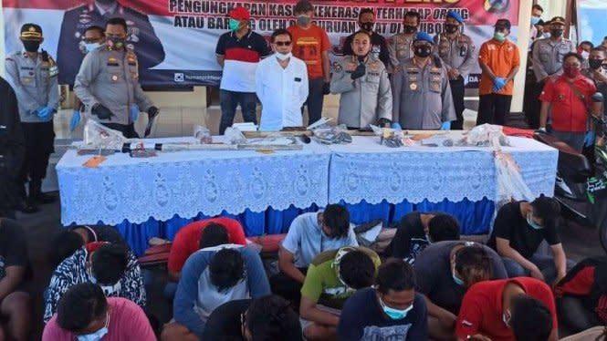 Sudah Hampir Seratus Pesilat Situbondo Diamankan di Kasus Perusakan
