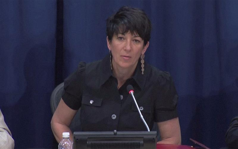 Ghislaine Maxwell was arrested at a home in New Hampshire on July 2 on charges of sex trafficking - Reuters