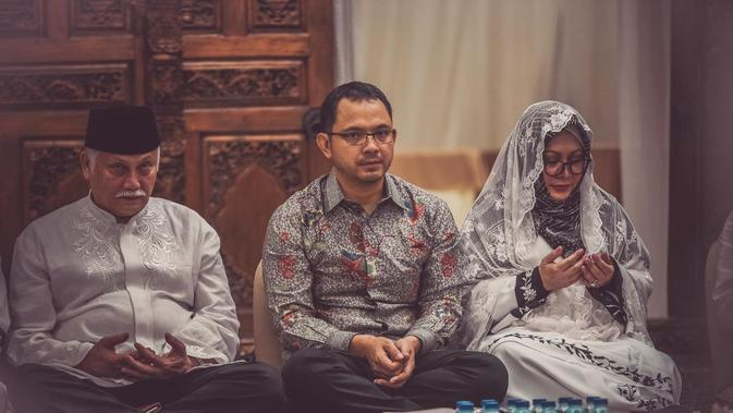 Suasana Pengajian Jelang Pernikahan Danny Rukmana. (istimewa)