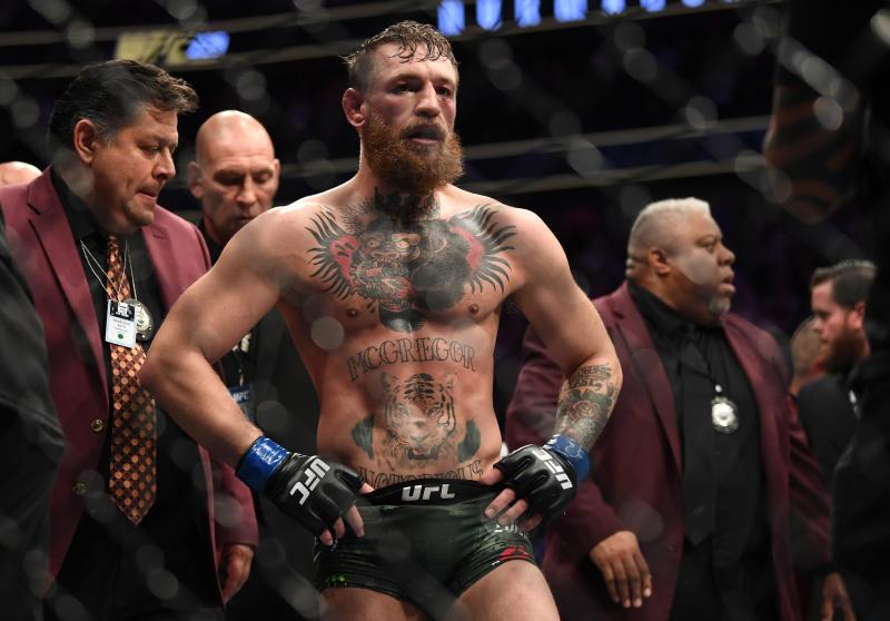 Conor McGregor MMA.