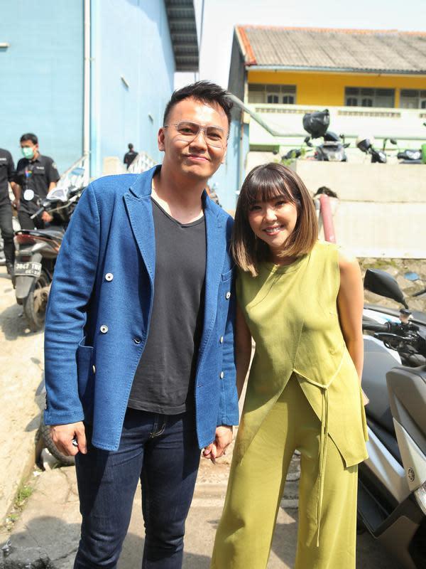 Gisellla Anastasia (Gisel) dan Wijaya Saputra. (Adrian Putra/Fimela.com)