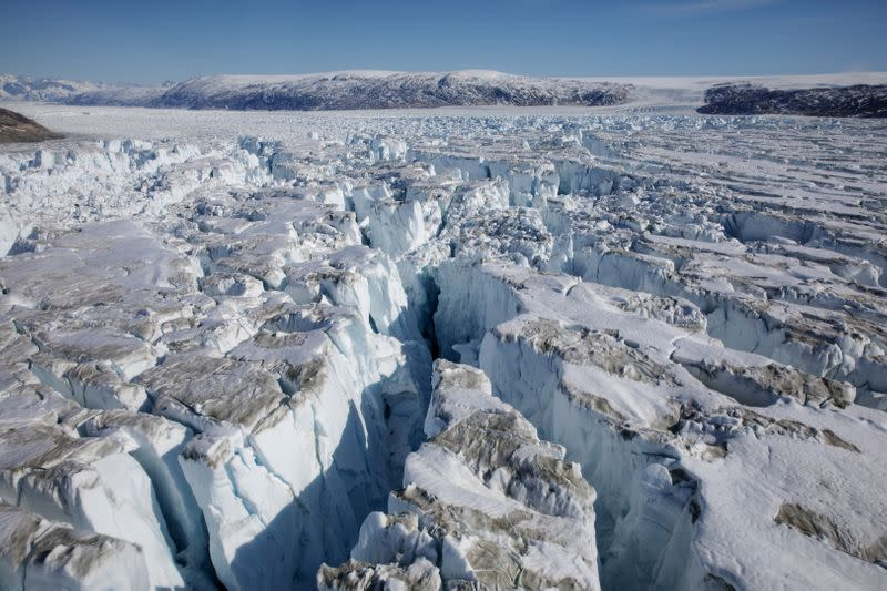 Greenland's ice sheet saw record mass loss in 2019, study finds