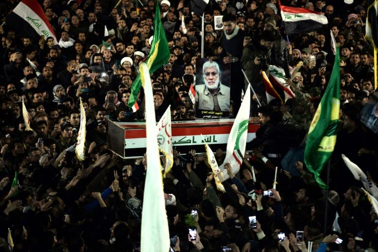 The killing of Iraqi paramilitary chief Abu Mahdi al-Muhandis --alongside top Iranian general Qasem Soleimani -- in January by a US drone strike brought Washington and Tehran to the brink of war, and triggered a storm of protest in Iraq