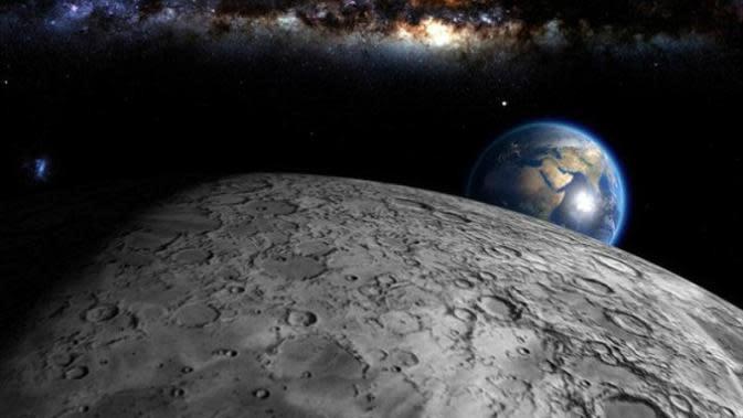 Tak disangka, selama ini ternyata Bulan mencuri oksigen dari Bumi. Berbahayakah?