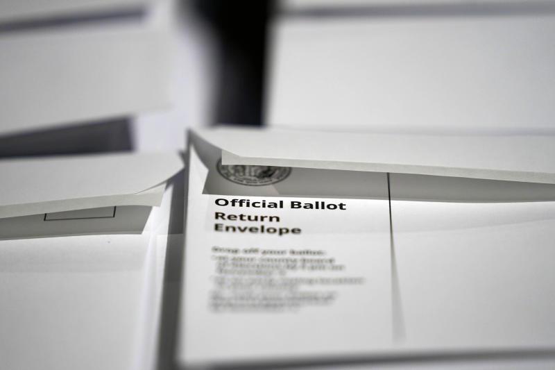 Election 2020 North Carolina Ballots