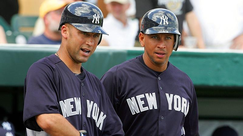Alex Rodriguez Congratulates Former Teammate Derek Jeter on Hall of Fame Honor -- See the Throwback Pics