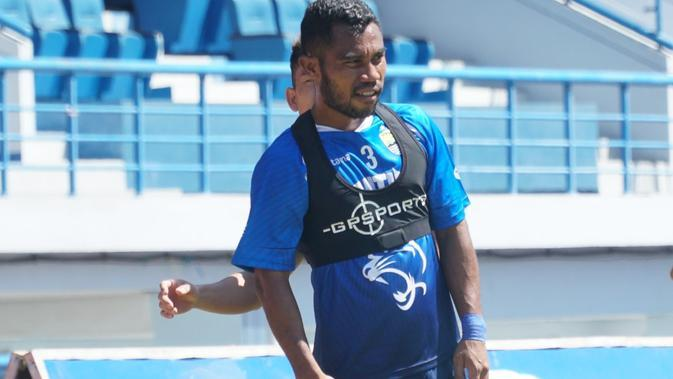 Bek sayap Persib Bandung Ardi Idrus. (Liputan6.com/Huyogo Simbolon)