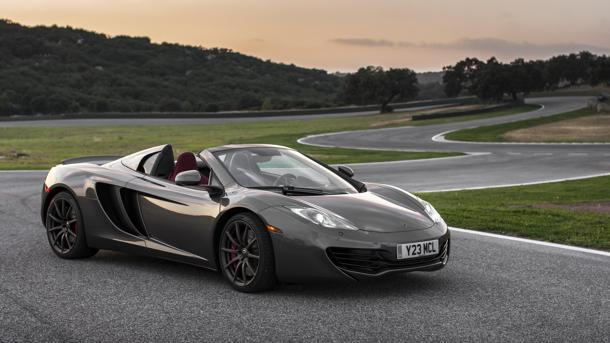 2013 McLaren 12C Spider, faster than you think: Motoramic Drives