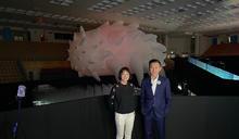 林智堅搶先參觀台灣設計展 體驗創新科技(1) (圖)