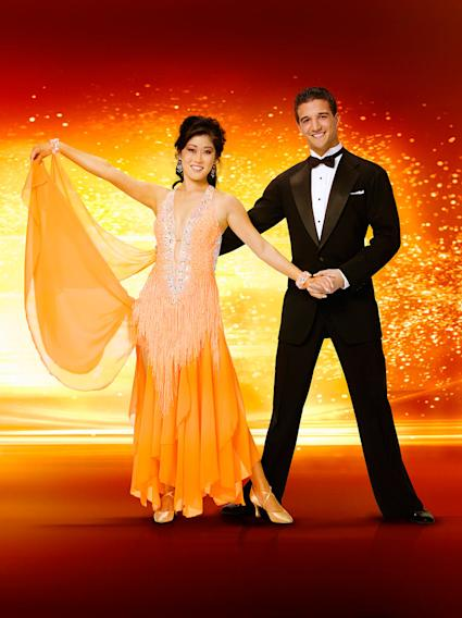 An Olympic Gold medalist and World Champion, Kristi Yamaguchi  teams up with professional dancer Mark Ballas for Season 6 of Dancing with the Stars.