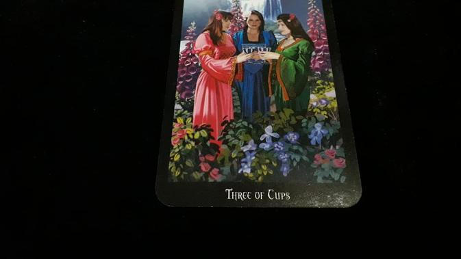 Kartu Tarot Three of Cups