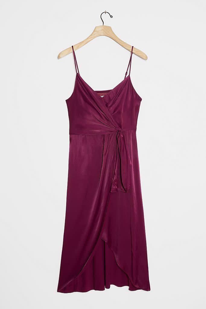 Giverny Midi Slip Dress. Image via Anthropologie.