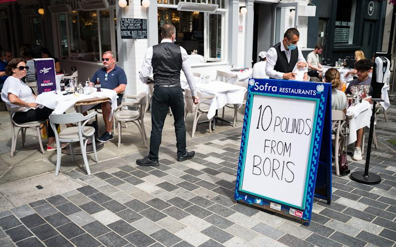 eat out to help out - Leon Neal/Getty Images