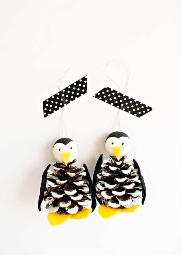 "<p>If you have ever seen anything sweeter than these penguin pine cone ornaments, we don't know what it is! This is the perfect project for kids of all ages, and it's super-easy to pull off.</p><p>See more at <a href=""https://www.hellowonderful.co/post/CUTE-PINE-CONE-PENGUIN-ORNAMENT-CRAFT/"" target=""_blank"">Hello, Wonderful. </a></p>"