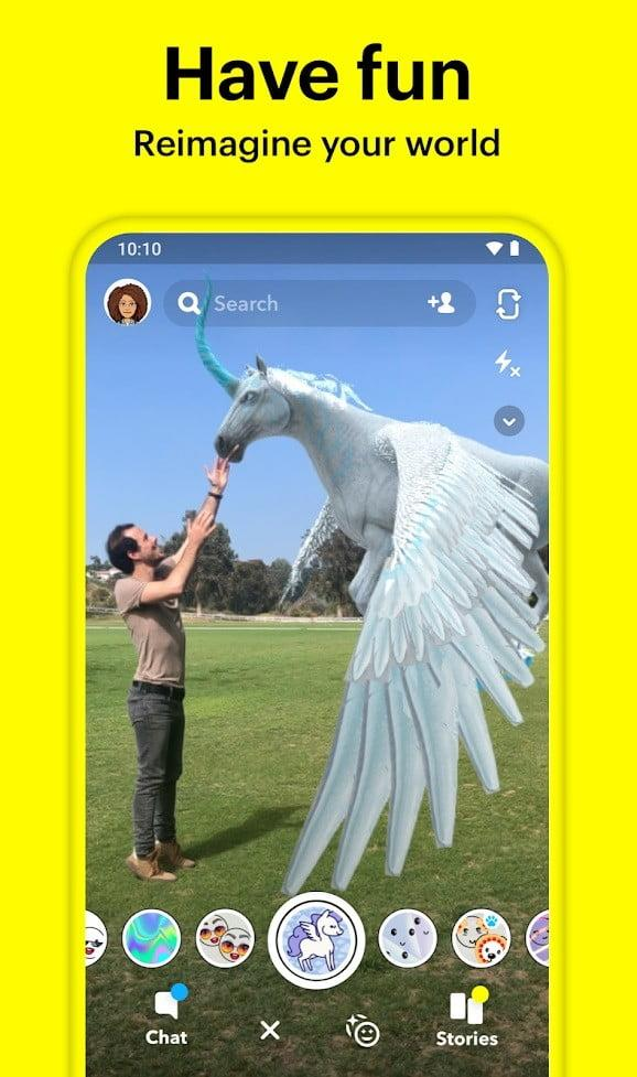 best tiktok alternative apps snapchat1