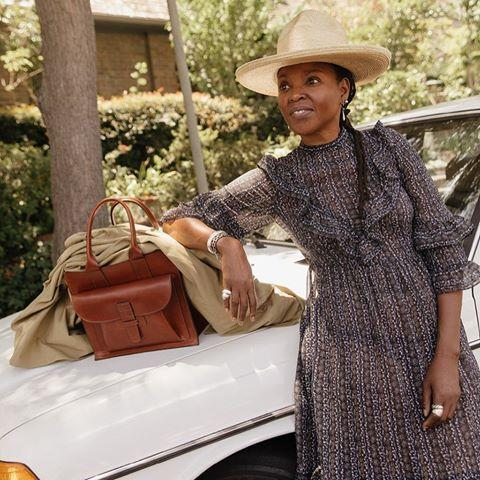 "<p>Classically made leather goods are what you will find with Agnes Baddoo. The designer and stylist created her line with the focus on timelessness. These handbags are designed for everyday use to get you from point A to point B.<br></p><p></p><p><a class=""body-btn-link"" href=""https://www.agnesbaddoo.com"" target=""_blank"">SHOP NOW</a></p><p><a href=""https://www.instagram.com/p/B2KuawOg-KX/"">See the original post on Instagram</a></p>"