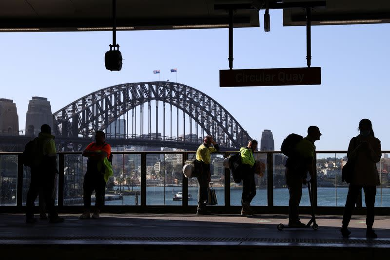 Australia COVID-19 hot spot says cases fall to single digits