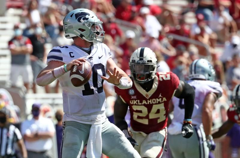 Top 25 roundup: Kansas State stuns No. 3 Oklahoma again