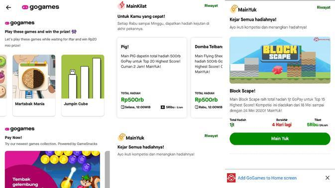 Maingame.com Kini Hadir di Aplikasi GoJek lewat GoGames