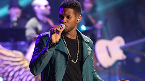 Usher Reschedules Tour, Focusing on His Kids