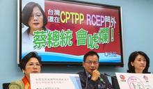 我對RCEP國家7成貿易額沒差?賴士葆反駁:傳統產業受影響,特別是高雄