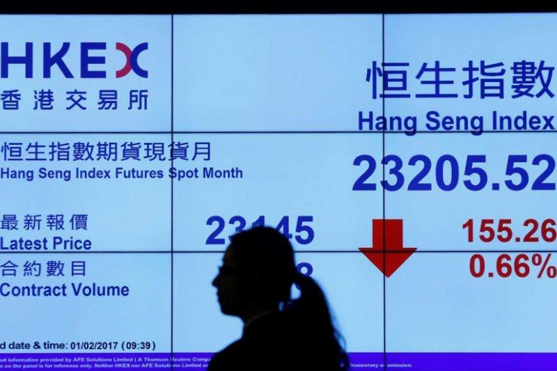 Bursa saham Hong Kong dibuka menguat tipis 0,02 persen