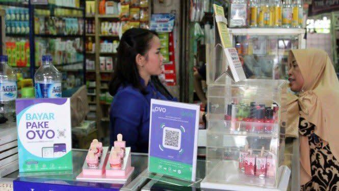 Belanja di Pasar Tradisional Bisa Bayar Pakai OVO