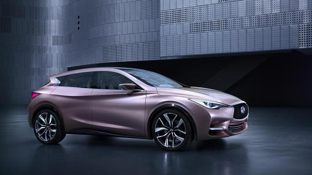 Infiniti Q30 concept aims for the global sweet spot between sedans and SUVs
