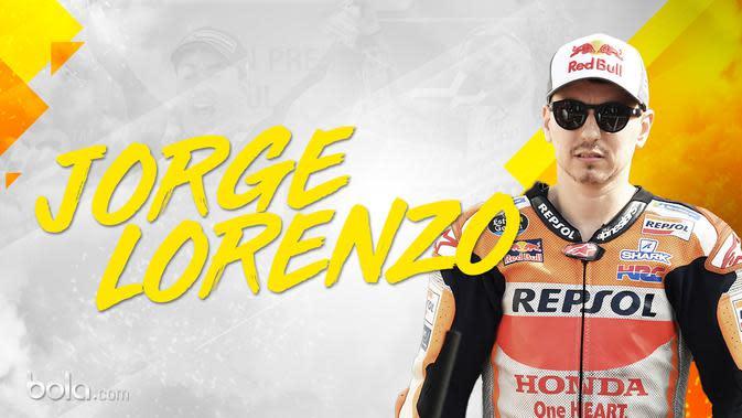 Jorge Lorenzo. (Bola.com/Dody Iryawan)