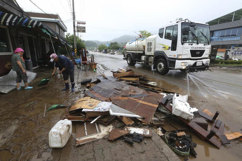South Korea Heavy Rains