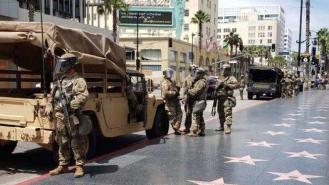 Abaikan Trump, Menhan AS Tarik Tentara dari Washington ke Barak