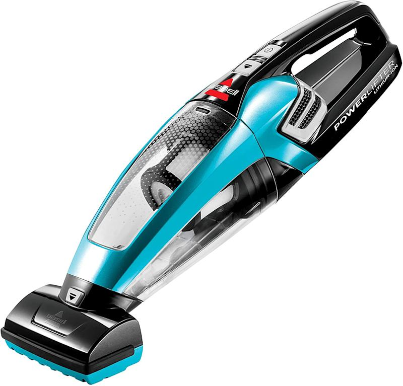 Bissell Powerlifter 12V Lithium Ion Cordless Hand Vacuum with Motorized Brush. Image via Amazon.