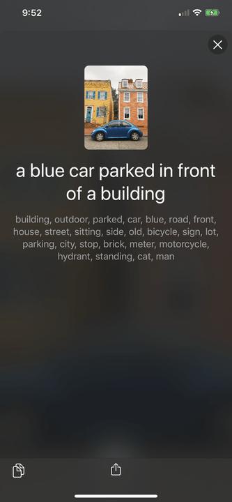 vhista iphone app juan david cruz screenshot car