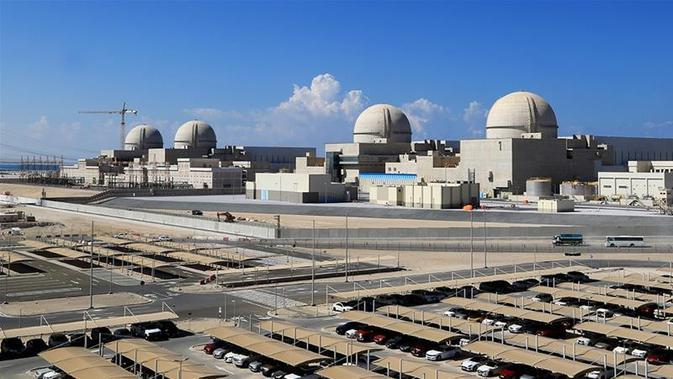 Reaktor nuklir Barakah, Uni Emirat Arab, Unit 1 dan 2 (credit: Barakah Nuclear Power Plant / AFP PHOTO)