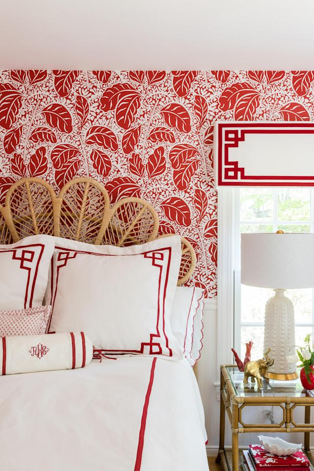 """<p>It's easy to fall into a """"<em>greige</em>"""" trap... tasteful, restrained, but perhaps a bit more subdued than intended. When a room calls for a bit of energy to liven it up, consider adding a pop of color to bring things to the next level. Whether it's a vibrant piece of art, a side chair upholstered in an eye-catching fabric, or even drapery that draws attention, a colorful element can give a room a much-needed jolt. </p><p>See how some of our favorite designers used a pop of color to create memorable spaces throughout the home, and find inspiration for your next project. </p>"""