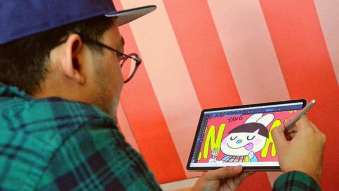 Wahyu Adhitya, seorang animator profesional.