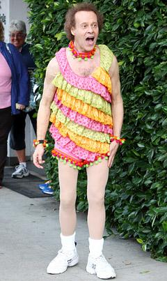 Richard Simmons Dishes on David Letterman