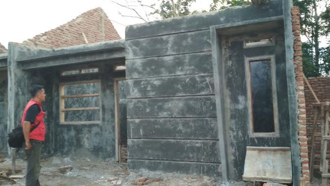 Ribuan pengembang perumahan baru di Cirebon terancam tidak dapat membangun rumah subisidi karena terganjal administrasi. Foto (Liputan6.com / Panji Prayitno)