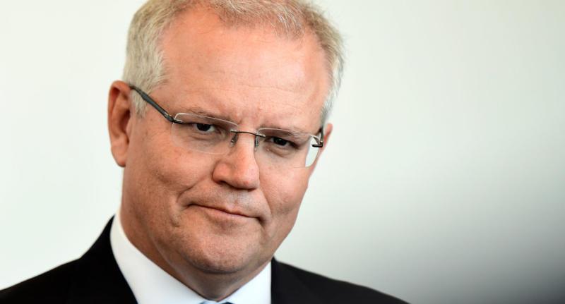 Scott Morrison shown after statements refusing Tamil family refuge in Australia.