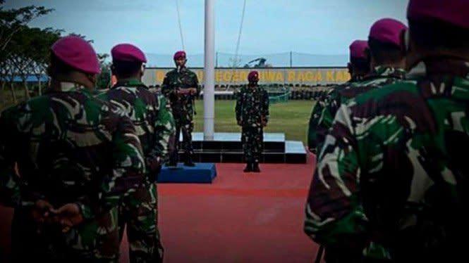 13 Petarung Buaya Muara TNI Kembali dari Daerah Rawan Gerbang Timur RI