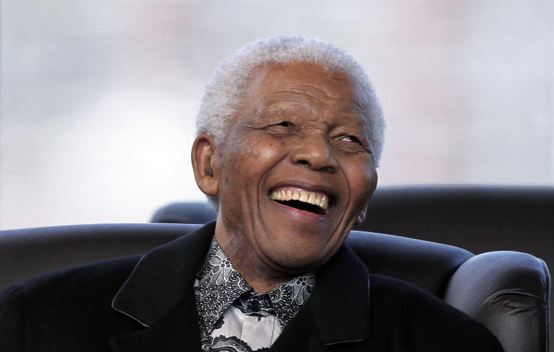 South Africa Trump Mandela