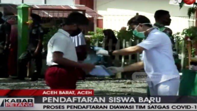 Penerimaan Siswa Baru Sekolah Mulai Dibuka di Aceh