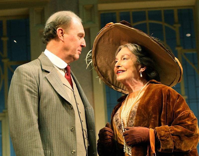 In Pygmalion at the Old Vic with Tim Pigott-Smith - Alastair Muir