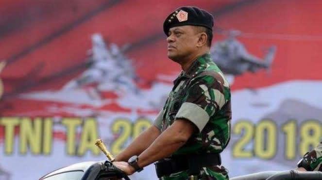 VIVA Militer : Mantan Panglima TNI Jenderal TNI (Purn) Gatot Nurmantyo