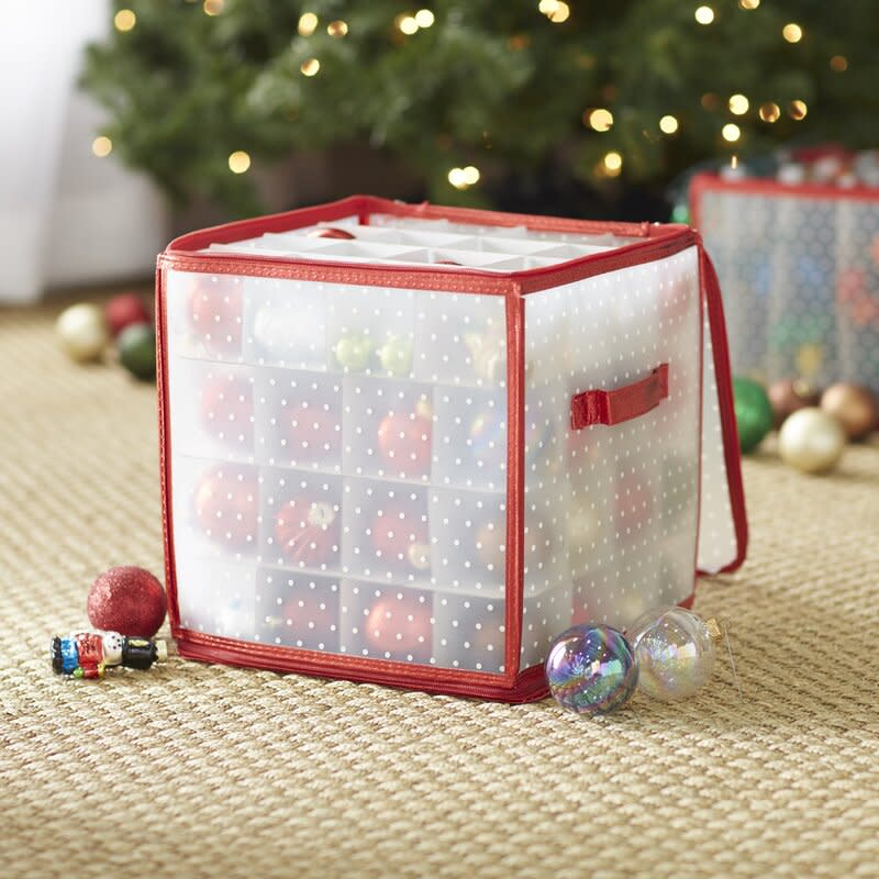 Ornament Storage Box. Image via Wayfair.