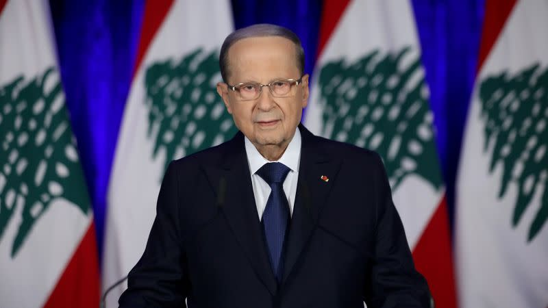 Lebanon's Aoun calls for consultations to designate new PM