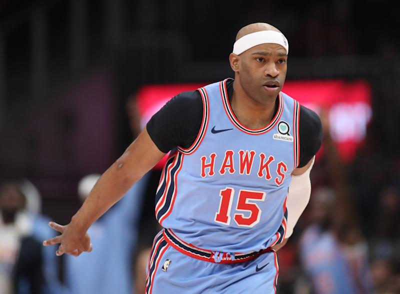 Vince Carter is reportedly returning to the Atlanta Hawks for his 22nd NBA season. (Reuters)