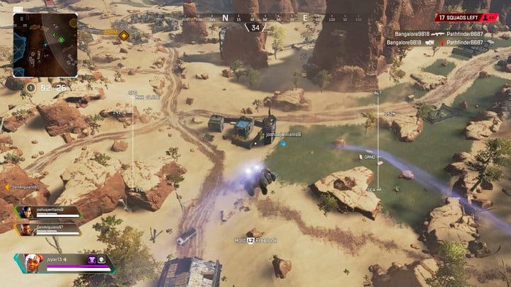 Jumping from a balloon | Pay attention to balloon's | Apex Legends Beginner's Guide