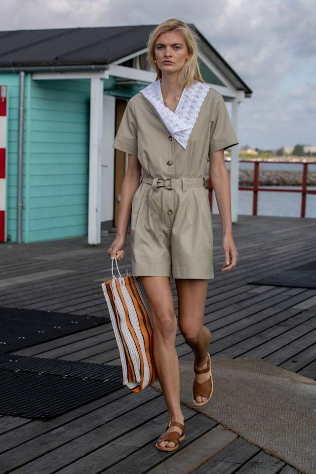 <p>A beach bag that can take you from sand to street is just the ticket this summer.</p>