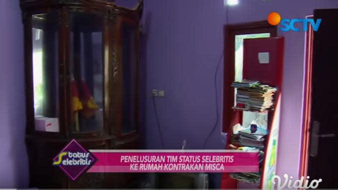 Potret Penampakan Kontrakan Misca Mancung, Sederhana (sumber:YouTube/SCTV)